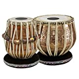 Meinl Percussion PRO-TABLA Professional Tabla Set with Goat Skin Heads, 9-Inch Bayan and 5 1/2-Inch Dayan