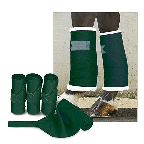 Leg Wraps Standing 4-pack Color: Hunter Green