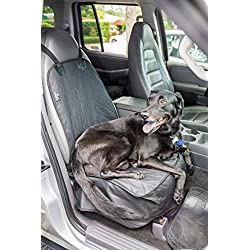 2PET Waterproof Quilted Front Seat Cover. Let your Dog or Cat Ride Along Next to You. Protect the Front Seat of Your Car. Universal Fit for Most Front Seats. Ebony Black