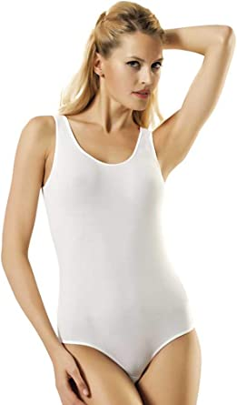 N-Lingerie Mujer Body de Tirantes para Hombre de Camiseta de (90% Algodón) Calidad: Amazon.es: Ropa y accesorios