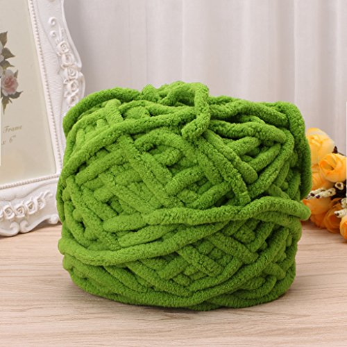 Susada 100g/1ball Hand Knitting Yarn Soft Cotton Chunky Woven Bulky Crochet Worested (09) ()