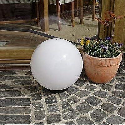 Lampe sphérique 40 cm Ø avec pointe éclairage d\'extérieur,déco pour ...