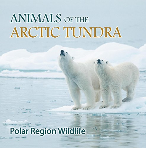 Two Young Arctic Foxes - Animals of the Arctic Tundra: Polar Region Wildlife: Animal Encyclopedia for Kids (Children's Explore Polar Regions Books)