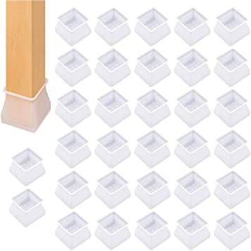 32* Tischfuß Stuhlbeinkappen Silikon Fußbodenschutz Tischabdeckung Möbel Caps