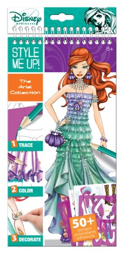 Style Me Up! The Ariel Collection Small Sketchbook (English) (Design Your Own Costume)