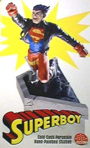 Young Justice: Superboy Statue]()