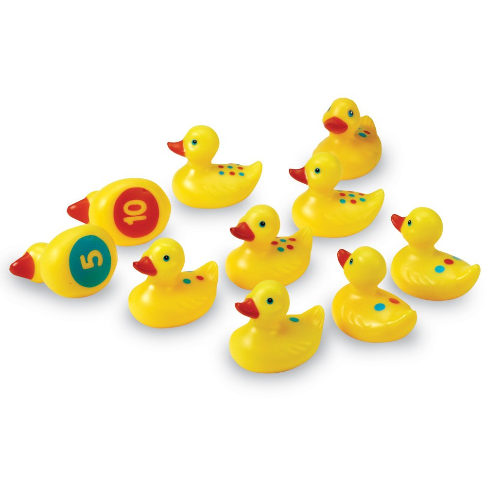 Learning Resources Smart Splash Number Fun Ducks, Set of 10 LER7301