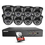 ANNKE Security DVR System 8 Channel 1080P Lite H.264+ DVR with