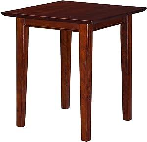 Atlantic Furniture Shaker End Table, Walnut