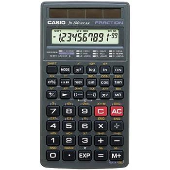 amazon com texas instruments ti25x solar calculator basic office rh amazon com user manual casio fx-260 solar Casio FX 260 Solar Scientific Calculator Size