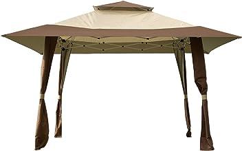 Outdoor or Party Garden Sunnyglade 10 x10 Gazebo Canopy Soft Top Outdoor Patio Gazebo Tent Garden Canopy for Your Yard Patio