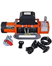 OPENROAD 13000lb Electric Winch with 26m Steel Cable,12V Cable Winch with Waterproof