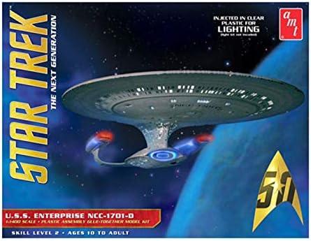 Star Trek 1//1400 USS Enterprise 1701 D Forward Windows Clear Resin For AMT New