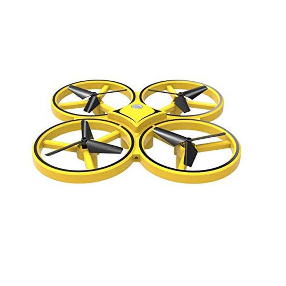 ZZEAMZ Induktionsdrohne Gestenfernsteuerungsflugzeug, vierachsiges intelligentes Suspendierungskinderspielzeug