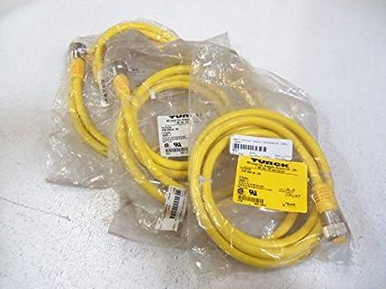 Amazon.com: Turck RKM 46 – Cable de 2 m set mini Fast 4P ...