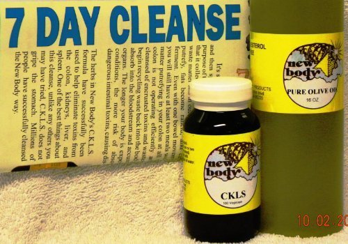 CKLS Colon Cleanse Basics Mobile Pack from New Body Herbs