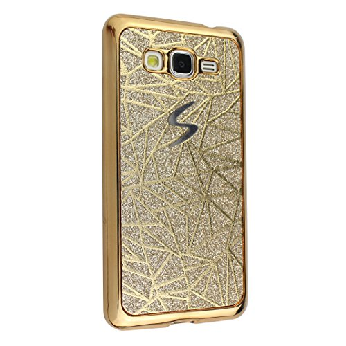 mood® Portable Coquille Sequins Case Moon Prime Or Bling Soft Samsung Grand pour Grand Souple Bumper Housse TPU Coque Étui Cas G530 Brillant Prime Cover AntiChoc Silicone Galaxy Paillettes Protection Uq0Aa6w