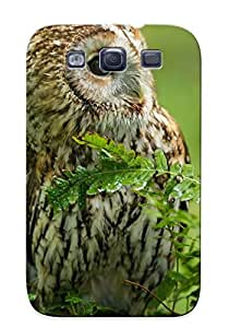 Podiumjiwrp BILudMF364iBmrK Case For Galaxy S3 With Nice Barred Owl Appearance by lolosakes