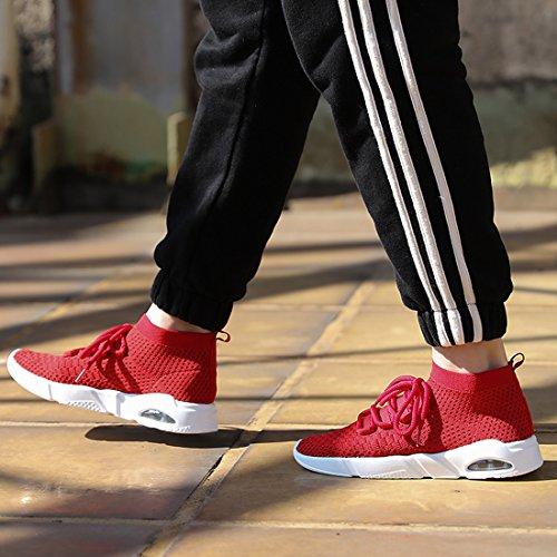 Unisex Zapatillas Deporte de KRIMUS Rojo Adulto 6Iadvxqdw