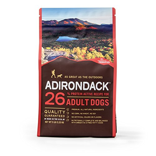 Adirondack Pet Food 22459 21% Protein Everyday Recipe For Adult Dogs, 30Lb. (Adirondack Dog)