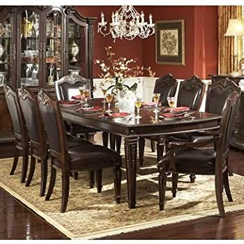 Amazon Com Homelegance Palace 9 Piece Dining Room Set In
