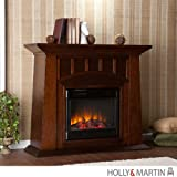Southern Enterprises Laslo Electric Fireplace For Sale