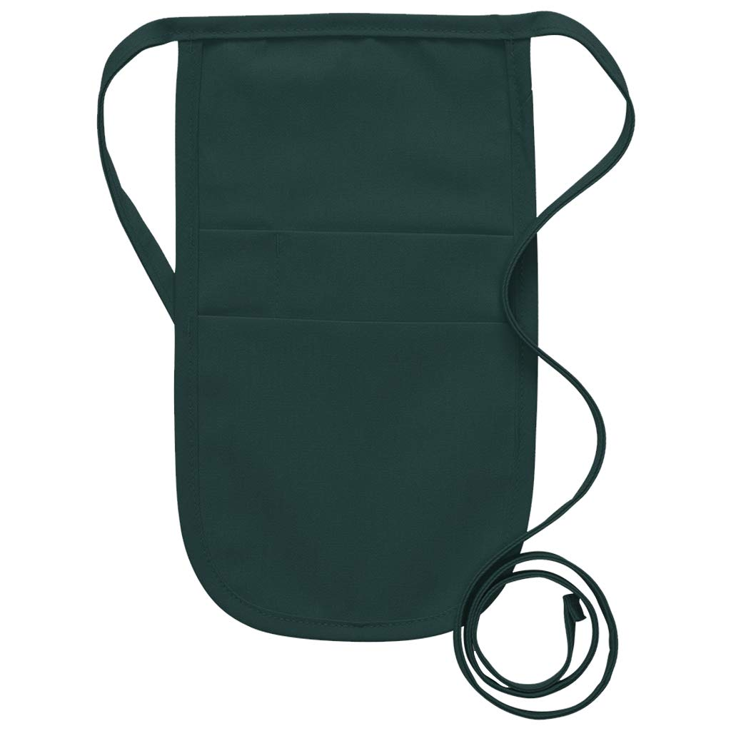 DayStar Apparel 152 Money Pouch w/Attached Ties (12 Pack), Hunter by DayStar Apparel