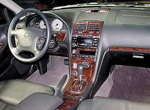 Nissan maxima interior burl wood dash trim kit - Nissan altima 2003 interior parts ...