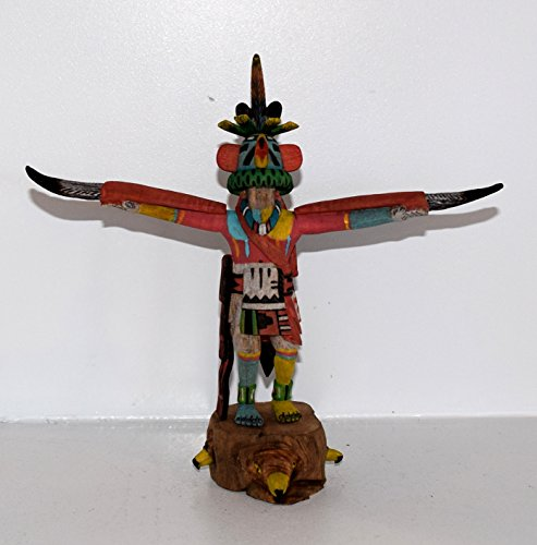 Cottonwood Hopi Eagle Dancer Kachina for sale  Delivered anywhere in USA