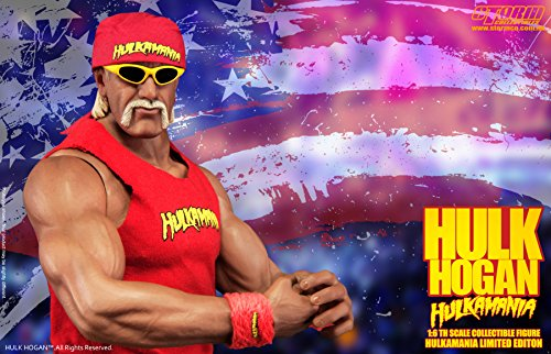 Hulk Hogan 1/6 Collectible Figure Haruka Mania Benefits: Design Wrestling boots with storm (Hulk Outfits)