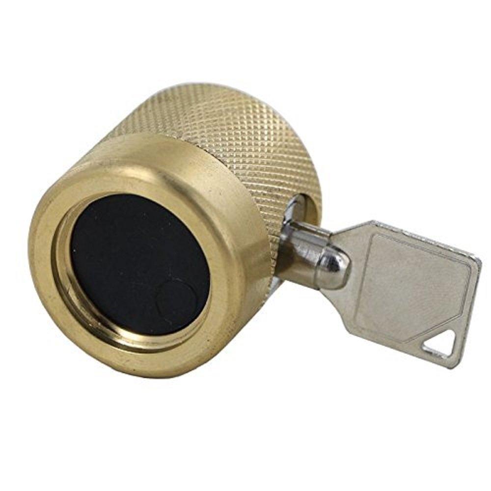 Amazon.com : Faucet Lock / Water Theft Deterrent : Garden Hose Reels ...