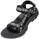 timeless design 342c5 67223 Galleon - Nike 618919-017  Benassi Womens Black White-Black Sandal ...