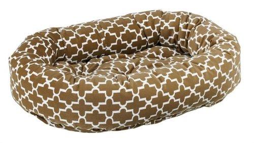 Bowsers Donut Bed, Medium, Cedar Lattice
