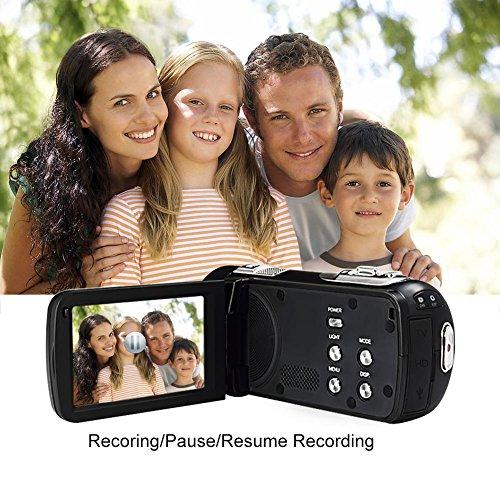 SEREE Camcorder Full HD 1080P 24.0 MP Digital Camera Portable Video Recording