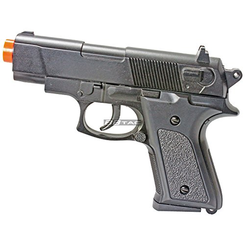 BBTac BT-M6603 Mini M9 Metal Zinc Alloy 165 FPS Compact Airsoft Gun with Magazine