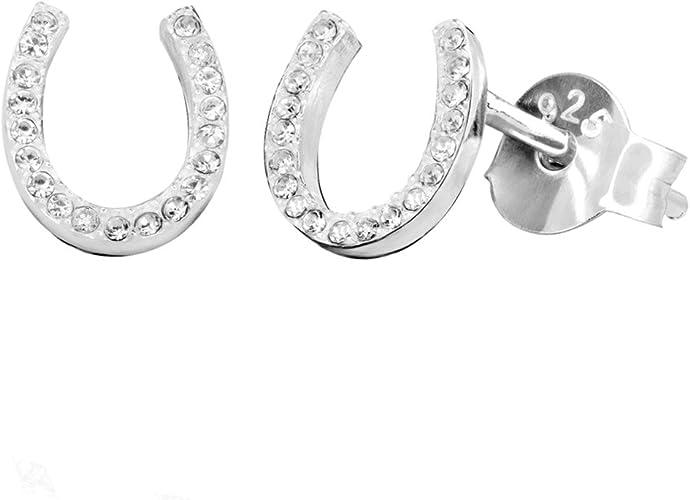 Bonyak Jewelry Sterling Silver Antiqued Horseshoe Charm