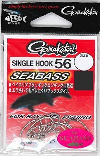 がまかつ(Gamakatsu) シングルフック シングルフック 56 シーバス 1号 7本 67019の商品画像