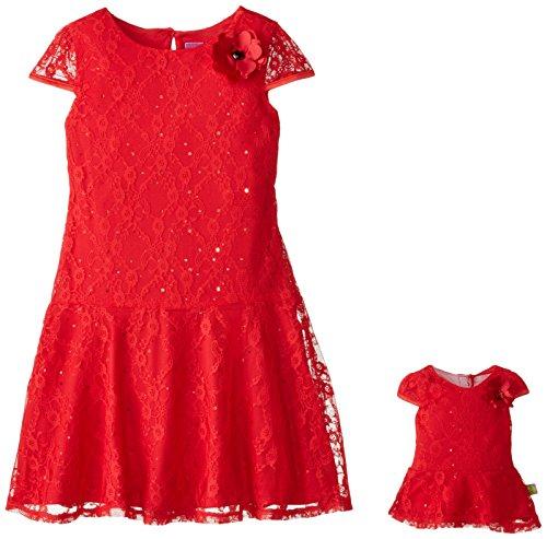 Dollie Me Girls Allover Dress