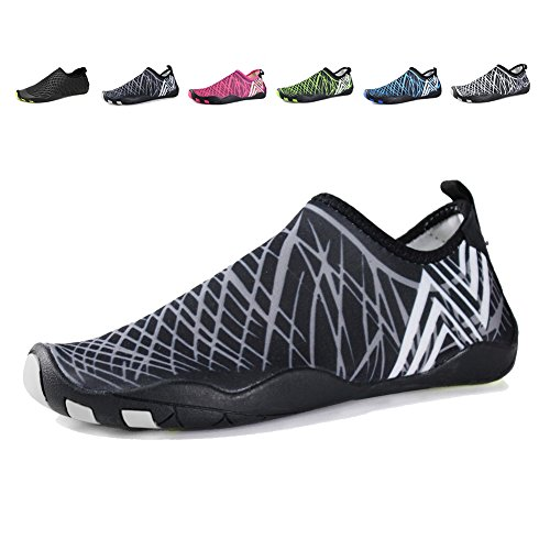 black On EQUICK Women Sports For Shoes Sneakers Water Slip Men Aqua Fishing Dry 1b Kids Quick wfZ4q
