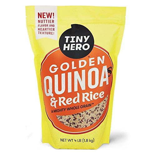 Tiny Hero Golden Quinoa & Red Rice, 4 Pound by Tiny Hero