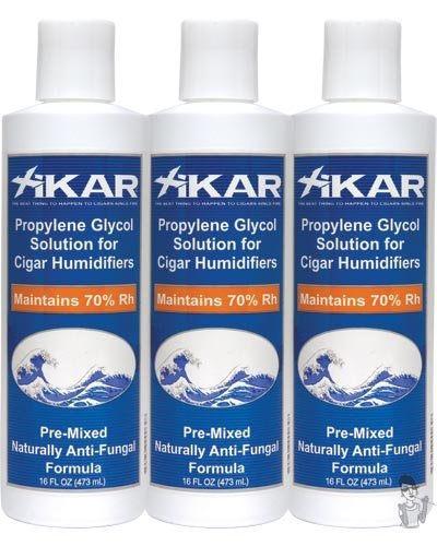 XiKAR 815Xi PG Solution 16 oz Humidor Solution Bottle Use Every Time Formula 3 Pack