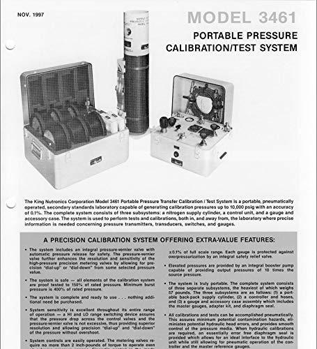 Amazon com: King Nutronics MDL 3461-48-101 Portable Pressure