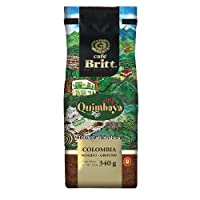 Cafe Britt Colombia Quimbaya Whole Bean, 12 Ounce
