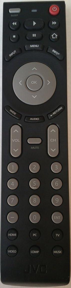 Smartby Remote Control Compatible with JVC Emerald Series Replacement for JVC EM42FTR EM48FTR EM55FTR EM65FTR LED HDTV