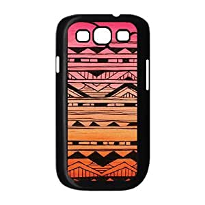 Aztec Tribal Pattern Custom Cover Case for Samsung Galaxy S3 I9300,diy phone case ygtg536490