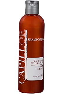 shampoing colorant cuivr shampoing professionnel sans silicone avec coloration temporaire - Shampoing Colorant Temporaire