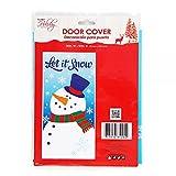 FLOMO Christmas Door Cover (2 Packs) Christmas Decorations, Christmas Wall Decorations, Outdoor Wall Decorations, Christmas Sale Items