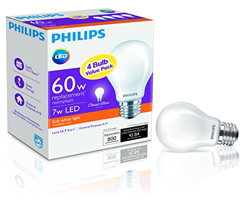 Philips-LED-Non-Dimmable-A19-Frosted-Light-Bulb