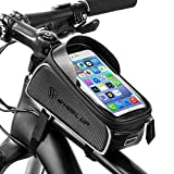 BAONUOR Bicycle Frame Bag Bike Handlebar Bag Waterproof Bicycle Phone Mount for iPhone 7 Plus / 6s Plus / 6 Plus/Samsung S7 Edge Other up to 6 Inch Smartphones