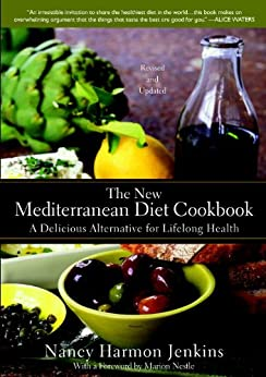 The New Mediterranean Diet Cookbook: A Delicious Alternative for Lifelong Health by [Jenkins, Nancy Harmon]